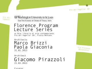 WUSTL_Florence_Program_Lecture_Series