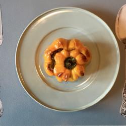 peperoni ripieni di funghi e mollica di pane